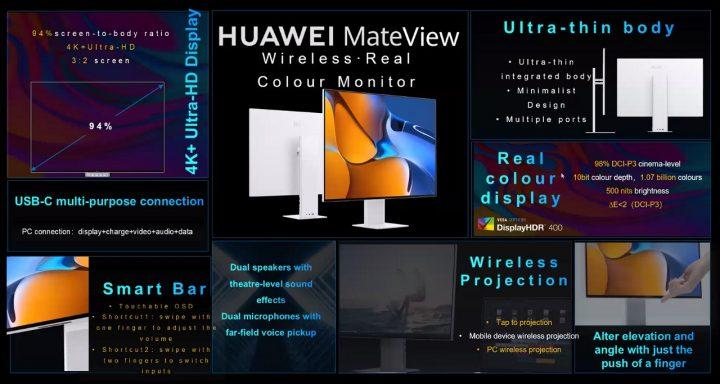 Huawei MateView harga dan spesifikasi Indonesia