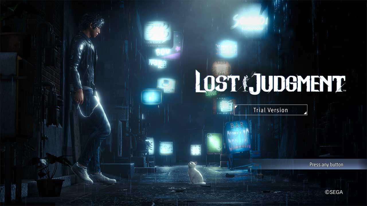 lost judgment demo1