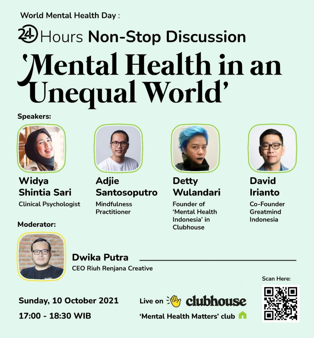 24 Hours Discussion Mental Health in an Unequal World