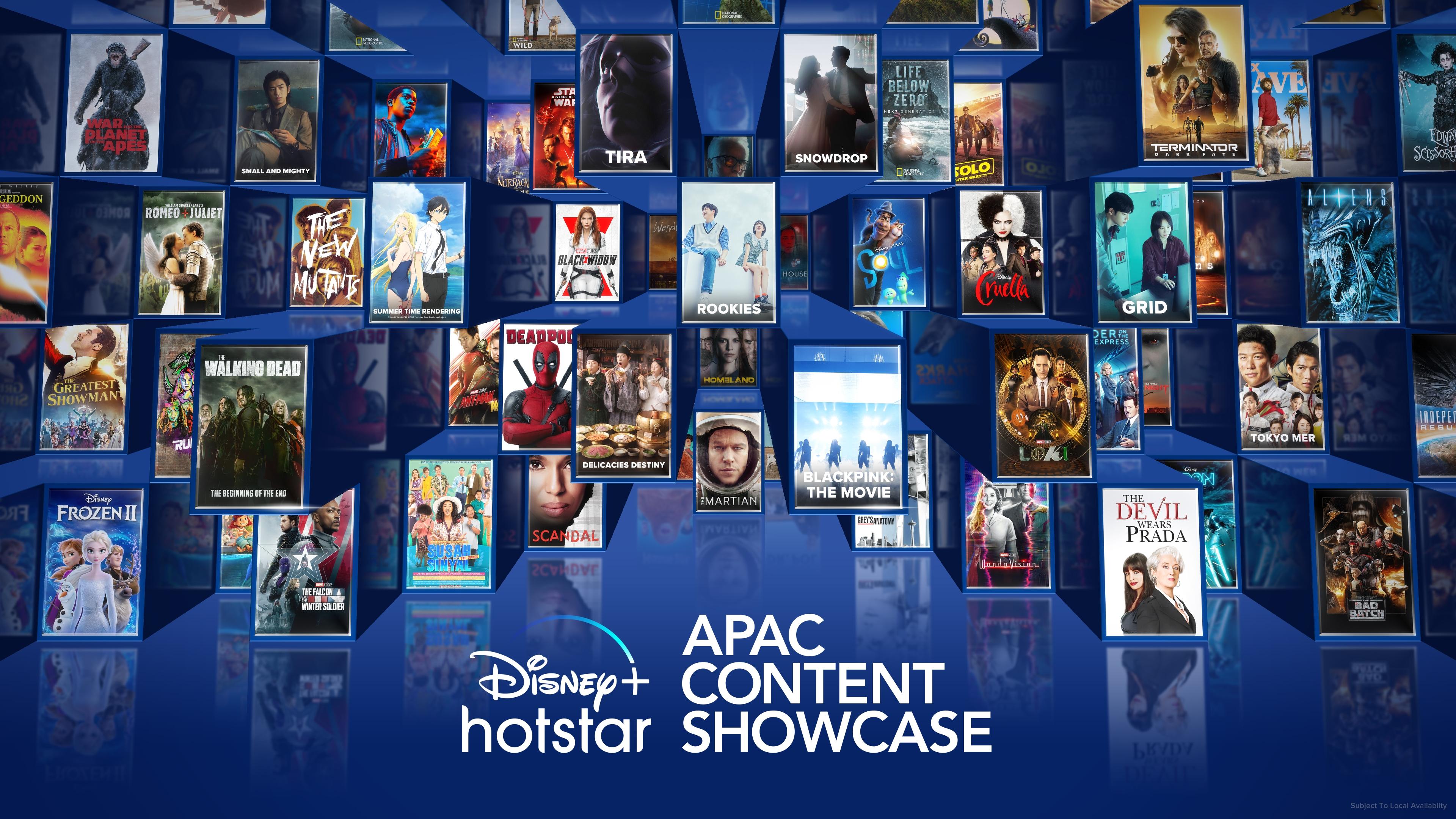 Disney+ APAC Showcase