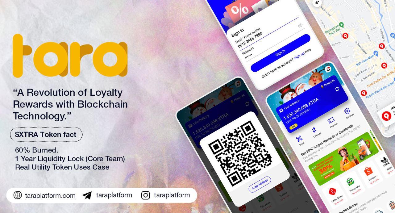 TARA Blockchain Crypto