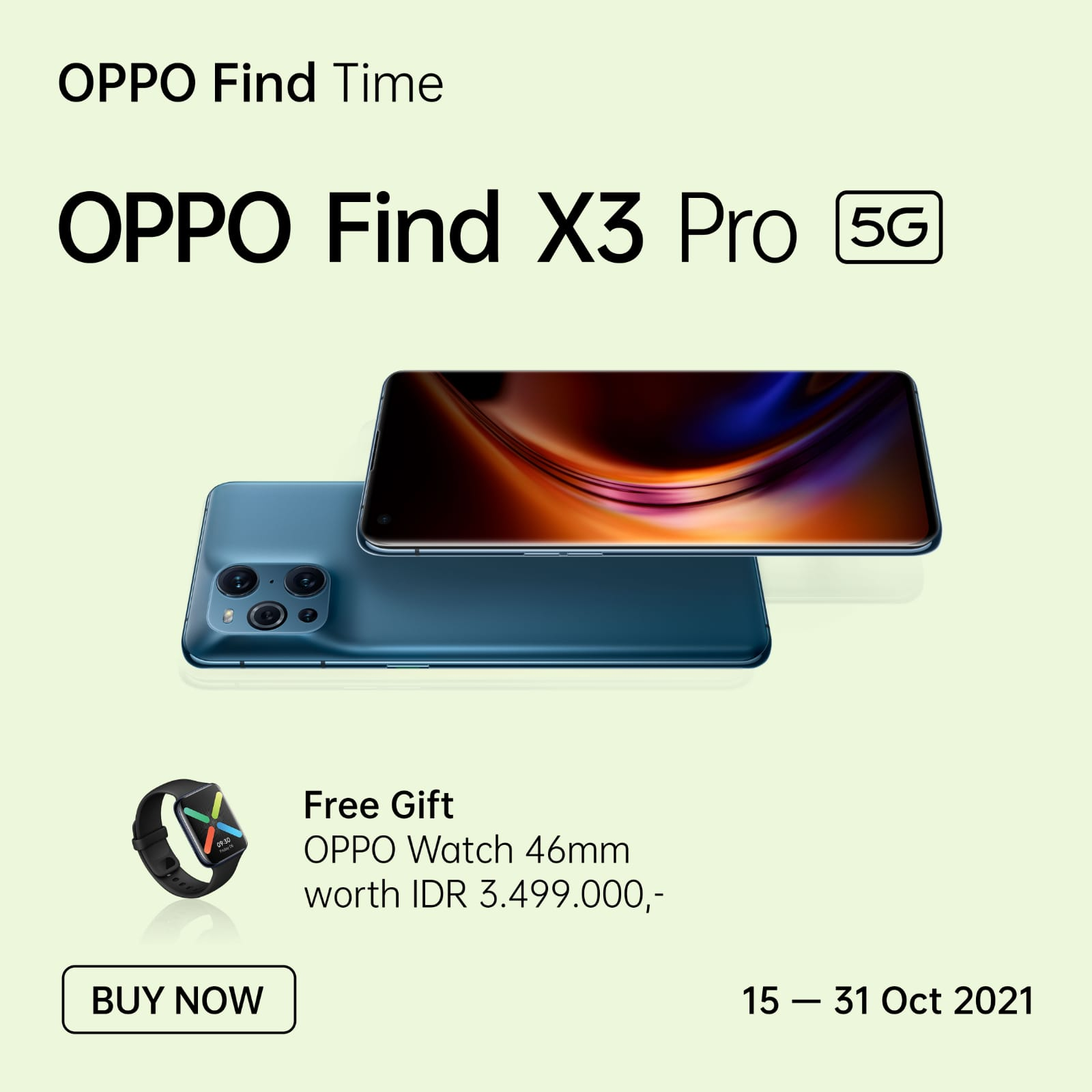 OPPO Find Time
