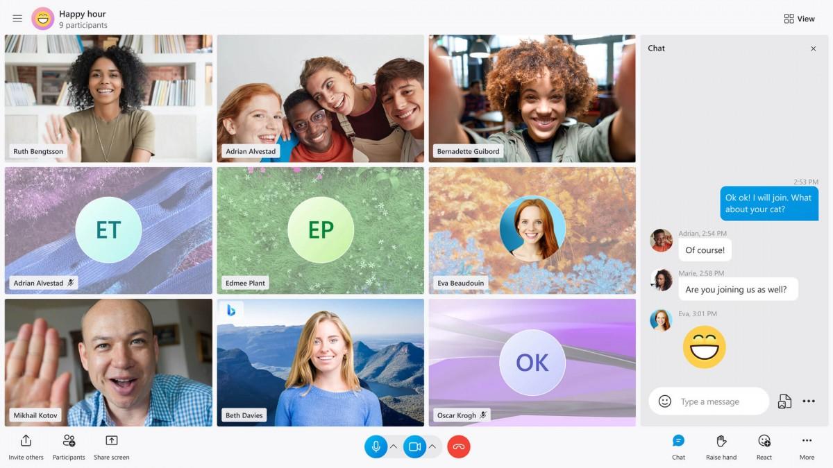 skype call stage